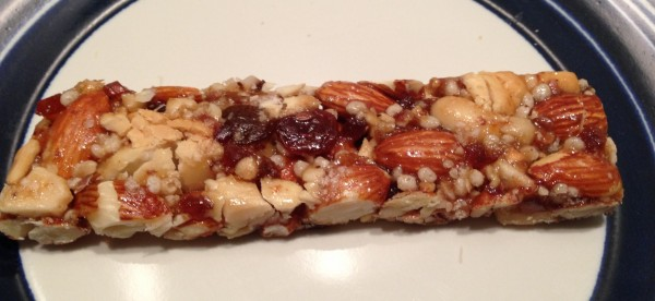 "Sabor de ""Fruit & Nuts"" da marca Kind"