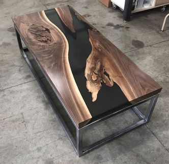 Amazing Resin Wood Table For Your Home Furniture 22