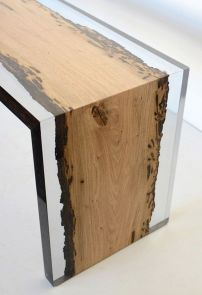 Amazing Resin Wood Table For Your Home Furniture 39