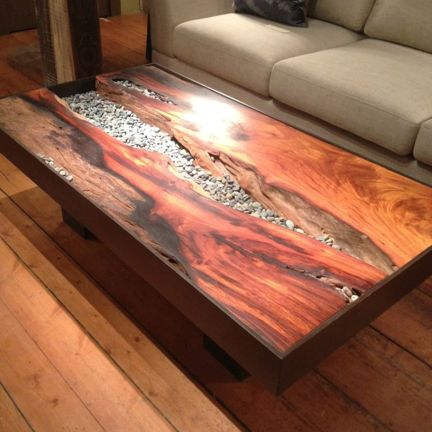 Amazing Resin Wood Table For Your Home Furniture 4