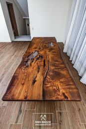 Amazing Resin Wood Table For Your Home Furniture 48