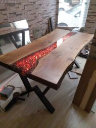 Amazing Resin Wood Table For Your Home Furniture 59
