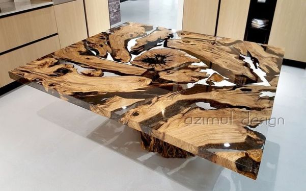 Amazing Resin Wood Table For Your Home Furniture 63