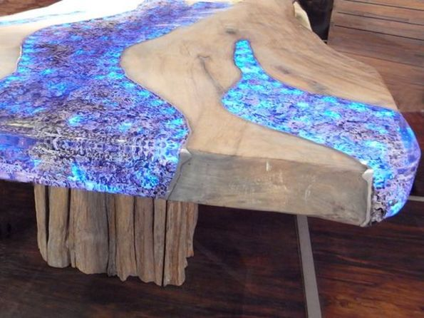 Amazing Resin Wood Table For Your Home Furniture 65
