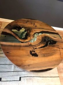 Amazing Resin Wood Table For Your Home Furniture 72