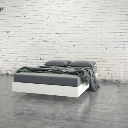 Cool Floating Bed Design Ideas 22