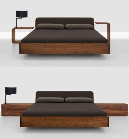 Cool Floating Bed Design Ideas 23