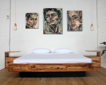 Cool Floating Bed Design Ideas 28