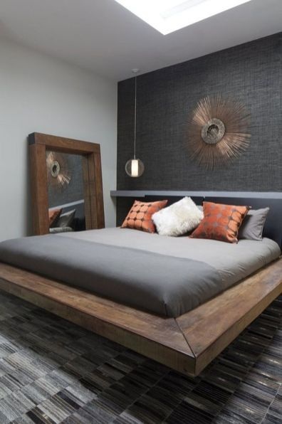 Cool Floating Bed Design Ideas 30