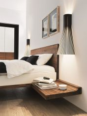Cool Floating Bed Design Ideas 32