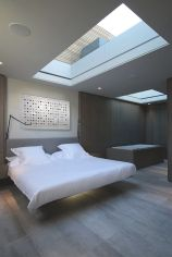 Cool Floating Bed Design Ideas 35
