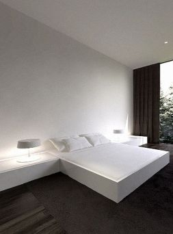Cool Floating Bed Design Ideas 41