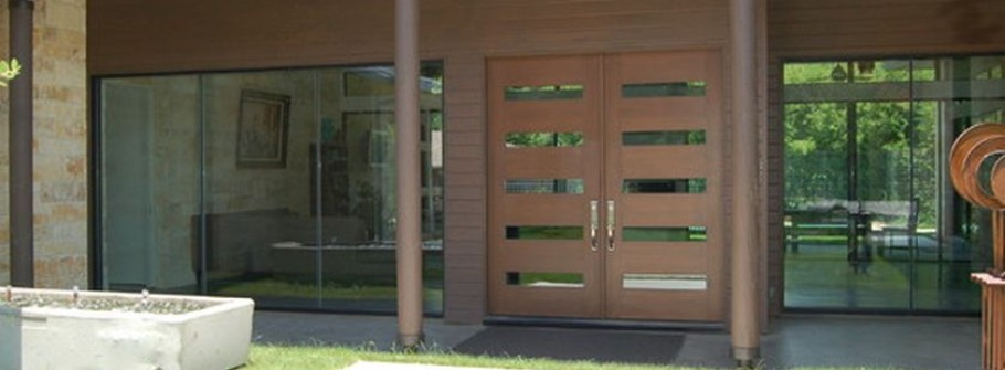 Contemporary Urban Front Doors Inspirations Featured