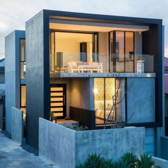 Modern Contemporary Urban House 12