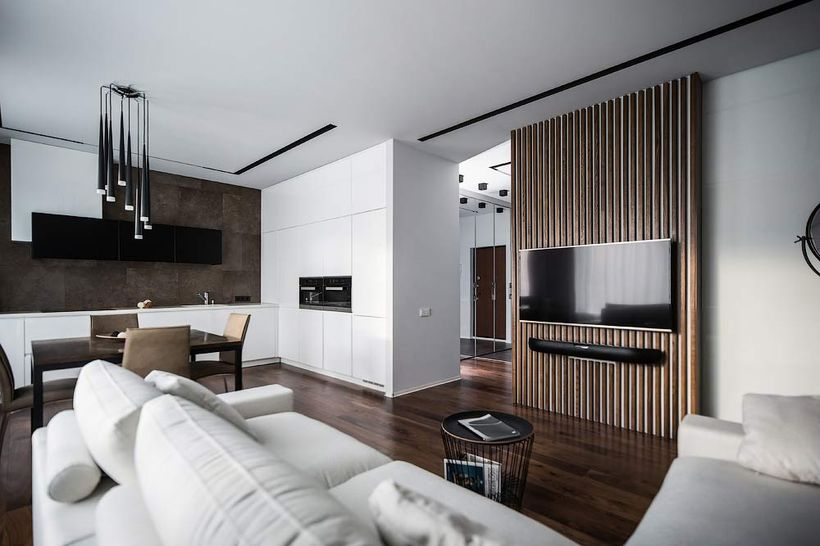 Awesome Modern Apartment Living Room Design Ideas 10