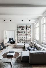 Awesome Modern Apartment Living Room Design Ideas 17