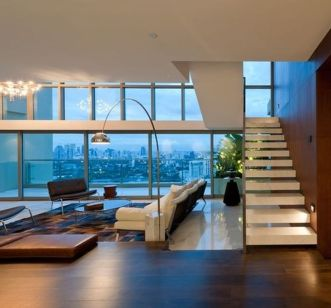 Awesome Modern Apartment Living Room Design Ideas 21