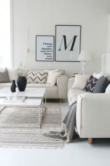 Awesome Modern Apartment Living Room Design Ideas 4