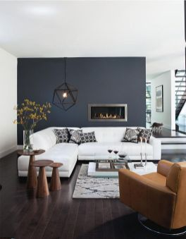 Awesome Modern Apartment Living Room Design Ideas 46