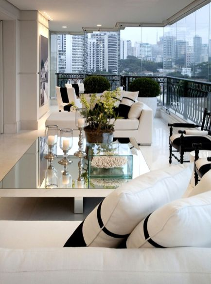 Awesome Modern Apartment Living Room Design Ideas 53