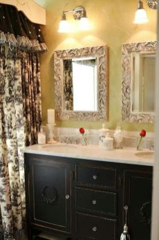 Awesome Rustic Country Bathroom Mirror Ideas 1