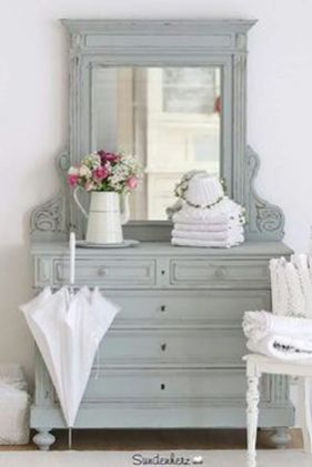 Awesome Rustic Country Bathroom Mirror Ideas 16