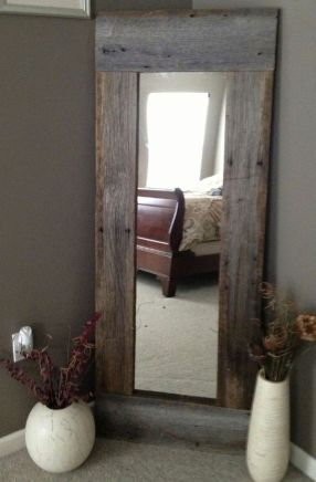 Awesome Rustic Country Bathroom Mirror Ideas 35