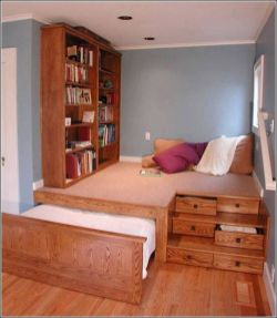 Awesome Small Bedroom Space Hacks Ideas 2