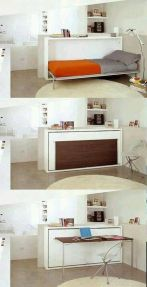 Awesome Small Bedroom Space Hacks Ideas 3