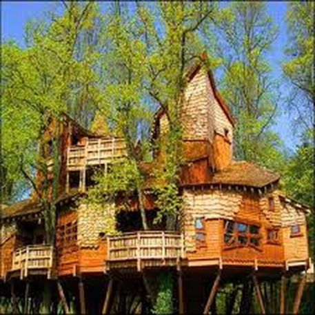 Awesome Treehouse Masters Design Ideas 23