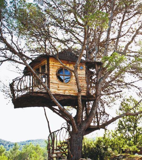 Awesome Treehouse Masters Design Ideas 58
