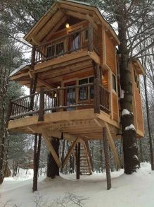 Awesome Treehouse Masters Design Ideas 64