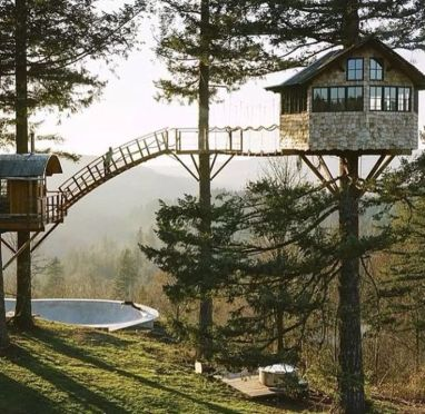 Awesome Treehouse Masters Design Ideas 72