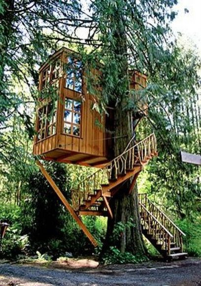 Awesome Treehouse Masters Design Ideas 90