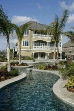 Lazy River Pool On Home Ideas 10