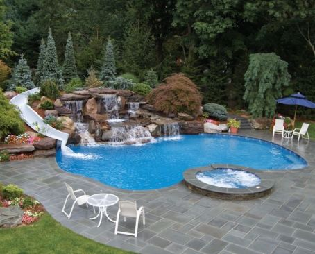 Lazy River Pool On Home Ideas 11