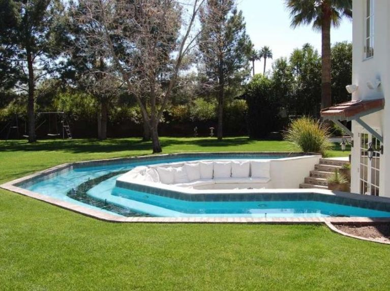 Lazy River Pool On Home Ideas 12