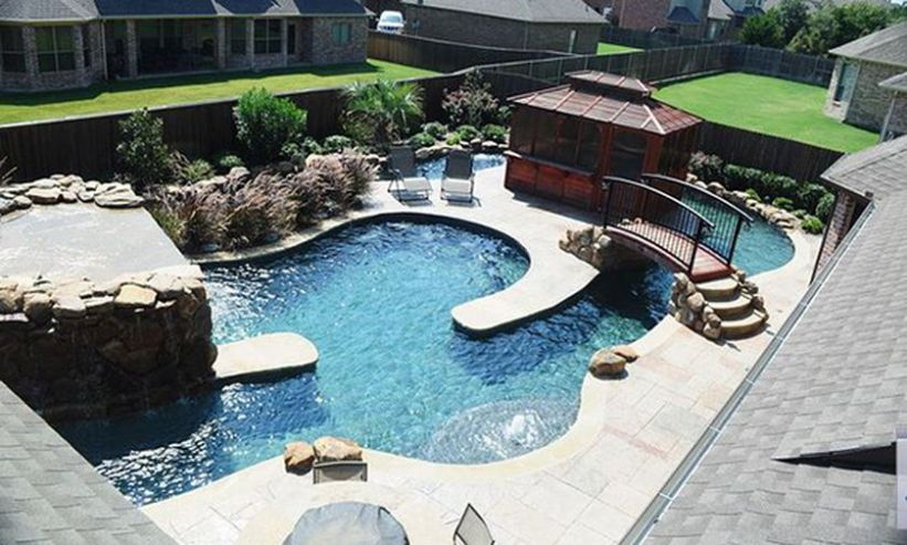 Lazy River Pool On Home Ideas 17