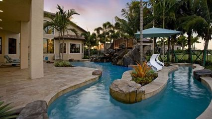 Lazy River Pool On Home Ideas 27