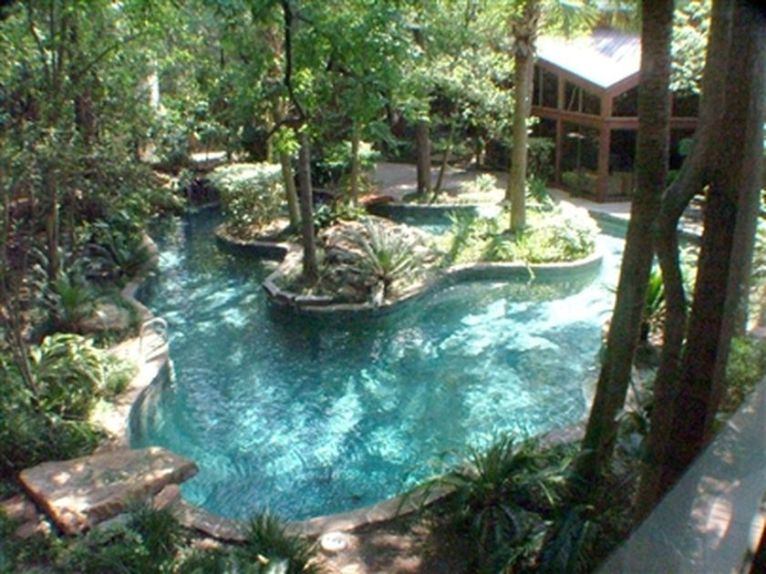 Lazy River Pool On Home Ideas 29
