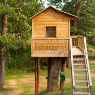 Simple Diy Treehouse For Kids Play 19