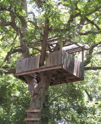 Simple Diy Treehouse For Kids Play 48