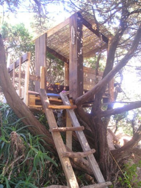 Simple Diy Treehouse For Kids Play 50