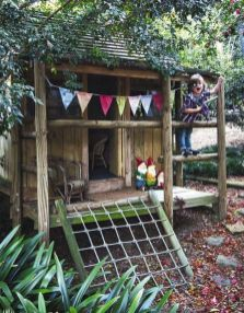 Simple Diy Treehouse For Kids Play 62