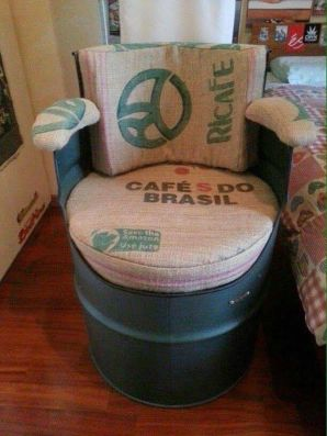 Amazing Creative Recycle Barrels Ideas For Your Home 19
