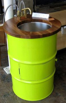 Amazing Creative Recycle Barrels Ideas For Your Home 24