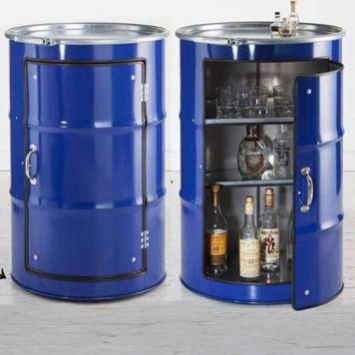 Amazing Creative Recycle Barrels Ideas For Your Home 8