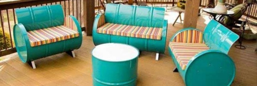 Amazing Creative Recycle Barrels Ideas For Your Home Featured