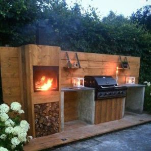 Awesome Grill Designs Ideas For Your Patio 16