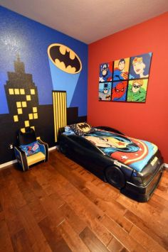 Awesome Superhero Themed Room Design Ideas 10